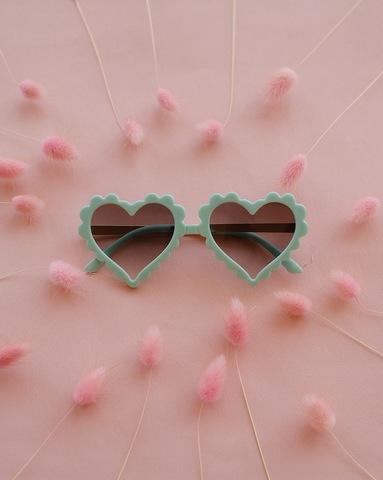 Солнечные очки LOVE бирюзовый