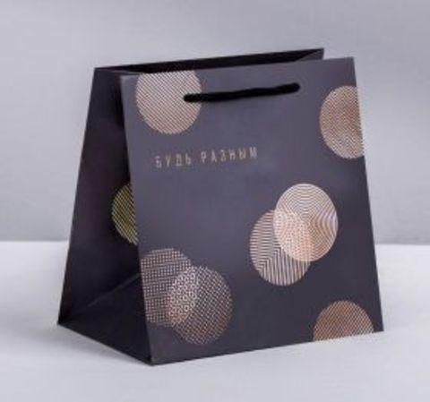 Подарочный пакет (круги)