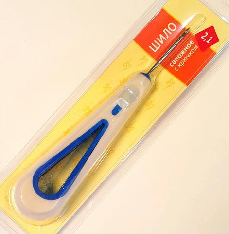 Шило швейное / сапожное с крючком 2.1 мм