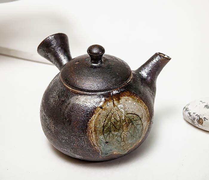 POT102 Чайник ручной работы в японском стиле («Kюсу»)