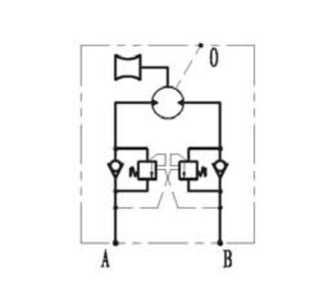 Принципиальная гидравлическая схема кабестана