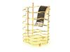 8932 FISSMAN Gold Подставка для кухонных инструментов,
