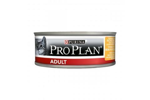 Консервы для взрослых кошек Purina Pro Plan Adult, курица паштет,  85 г