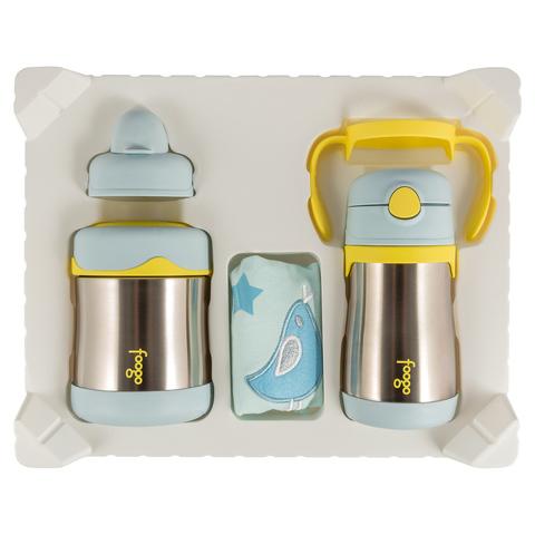 Уценка! Детский набор Thermos B3000+BS535 BL (термос для еды, термос для напитков), голубой