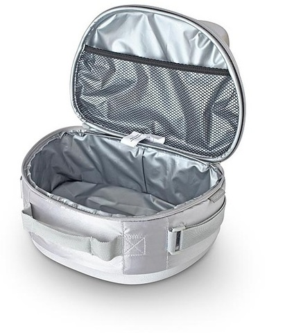 Уценка! Термосумка Thermos для косметики Eva Mold Kit (6 л.), серебристая