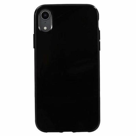 силиконовый чехол для iphone xr черный
