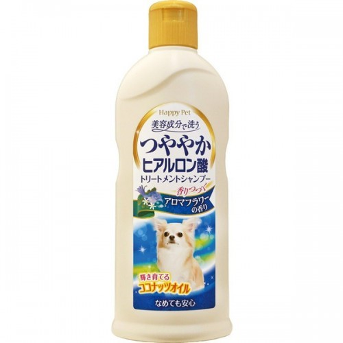 879408 - Шампунь для собак с кокосовым маслом и гиалуроном для сияющей шерсти собак, цветочный аромат (350 мл)