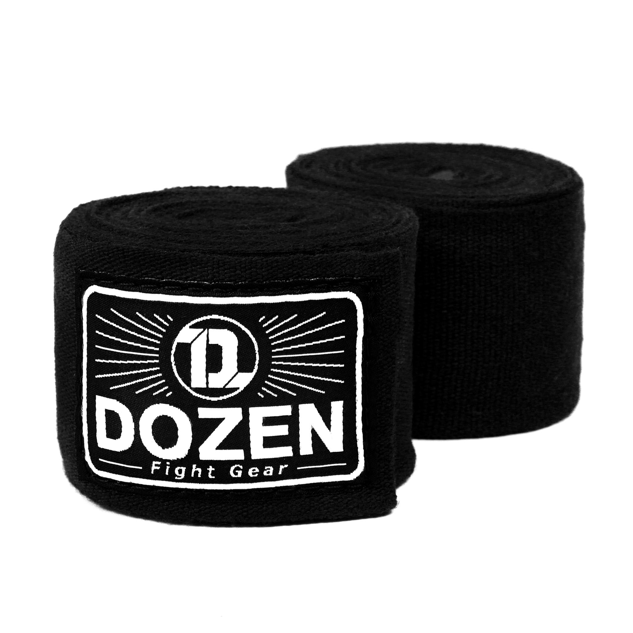Бинты черные Dozen Monochrome Ultra-elastic главный вид