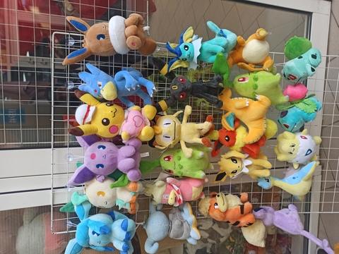 Набор мягких игрушек покемонов огромный 23 шт 25 см