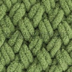 Alize Puffy 485 (зеленый горошек)