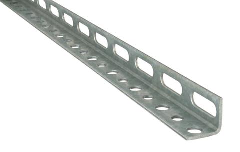 Профиль оцинкованный L-образный (цена за 1 м, кратно 2 м) 50x50х4