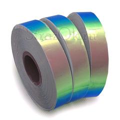 Купить оптом лазерную обмотку для обруча Blue 3D Lazer синюю