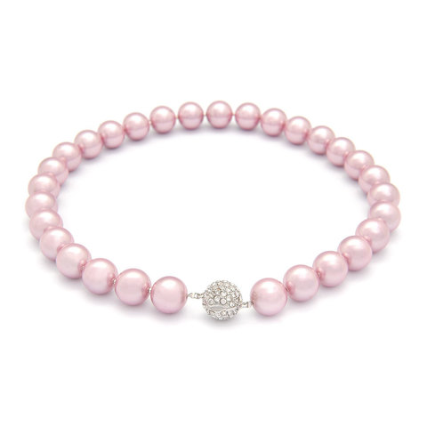 Жемчужное ожерелье  (розовое)
