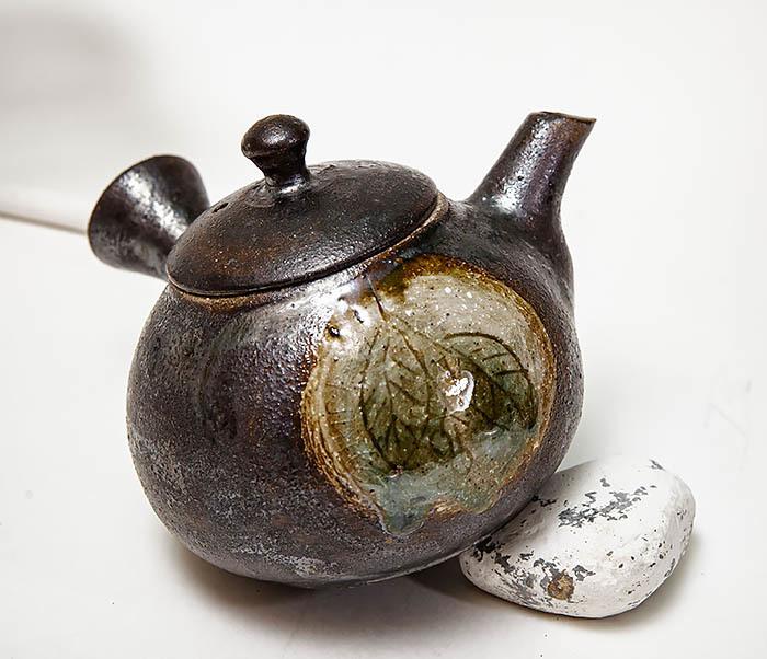 POT102 Чайник ручной работы в японском стиле («Kюсу») фото 03