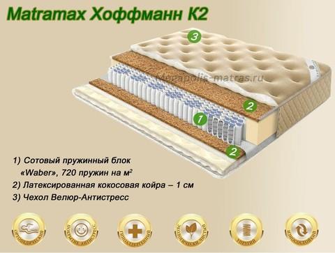Матрас Матрамакс Хоффманн К2 купить в Москве от Megapolis-matras.ru