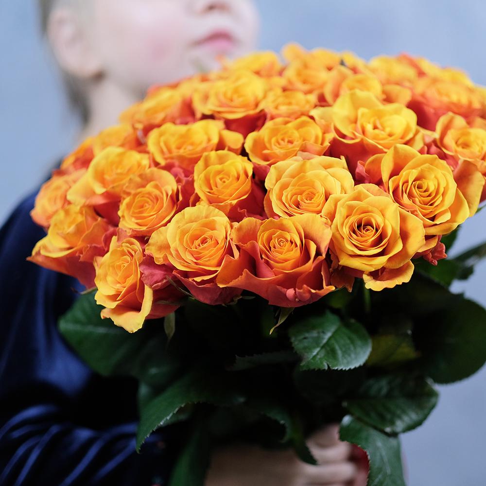 Розы двухцветные Espana от 7шт