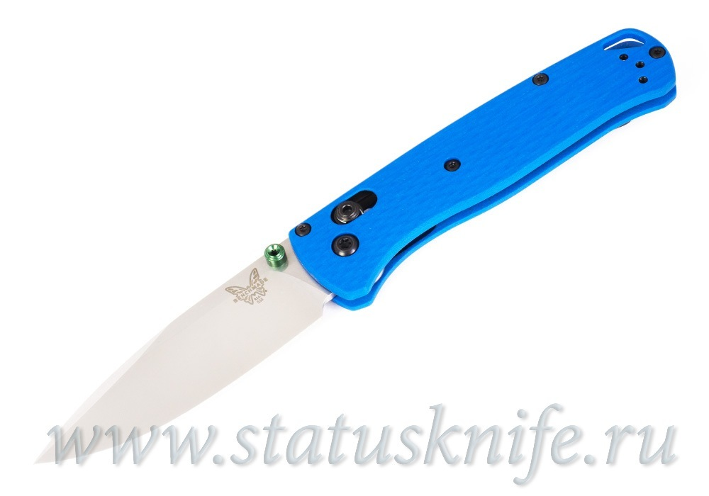 Нож Benchmade CU535-SS-20CV-G10-BLU Bugout