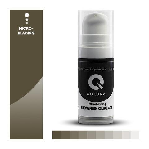 Qolora Brownish Olive 409 (Коричнево-оливковый)