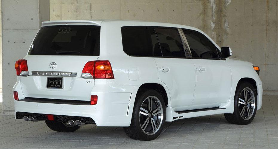 Обвес MzSpeed для Toyota Land Cruiser 200 Копия
