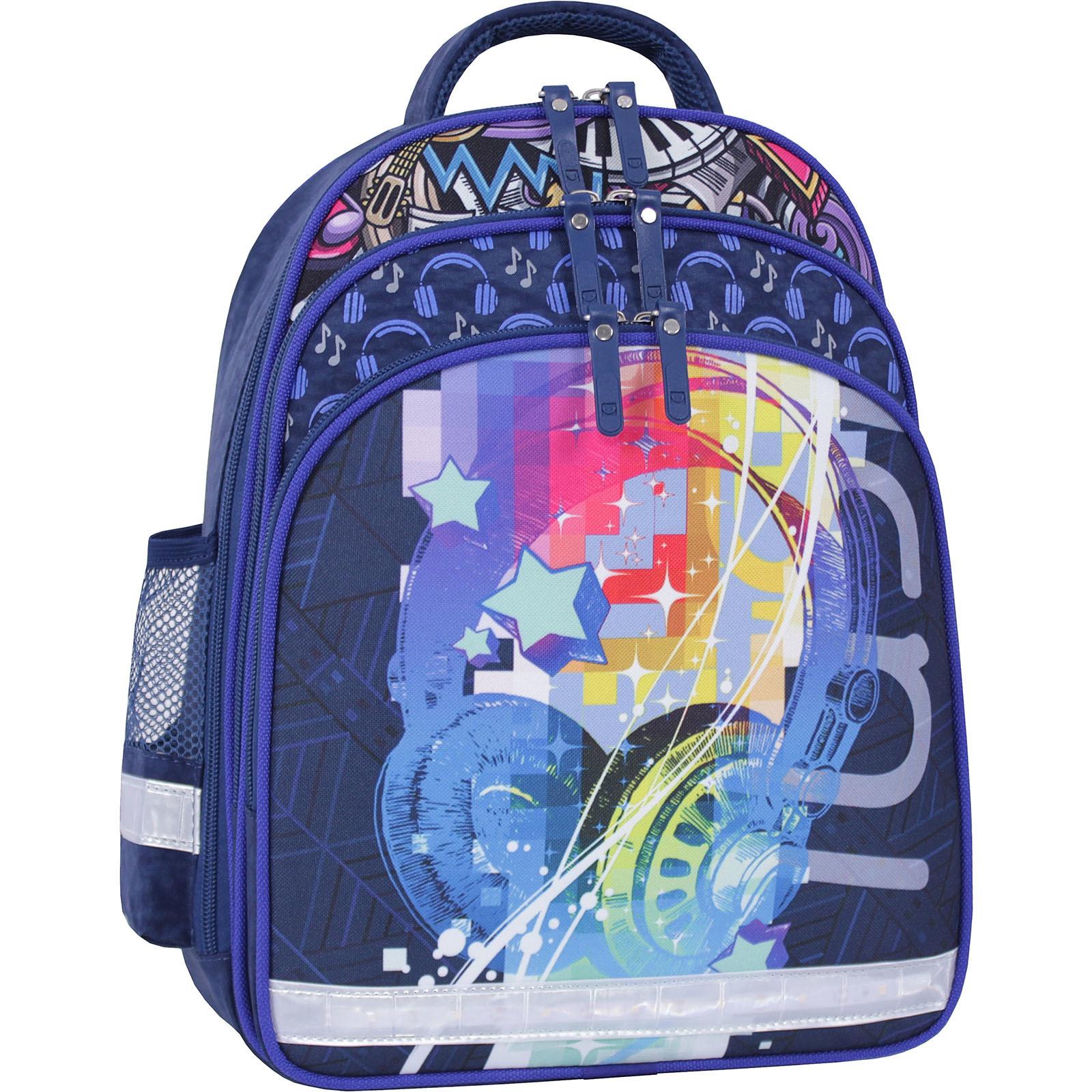 Детские рюкзаки Рюкзак школьный Bagland Mouse 225 синий 614 (0051370) IMG_9975_суб.614_.JPG