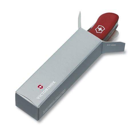 Нож Victorinox Sentinel One Hand belt-clip, 111 мм, 5 функций, с фиксатором лезвия, черный123