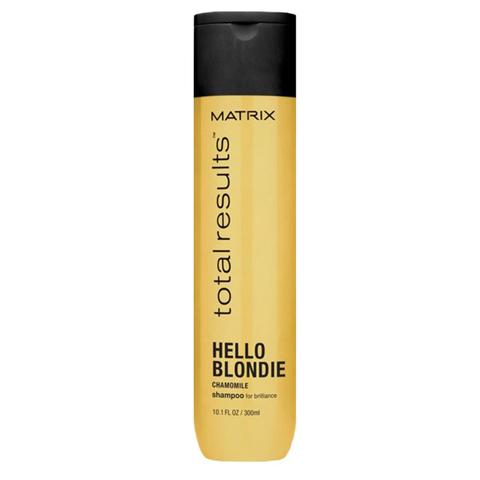 Matrix Total Results Hello Blondie: Шампунь для светлых волос с экстрактом ромашки (Hello Blondie Shampoo), 300мл