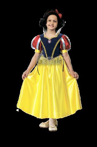 Карнавальный костюм Принцесса Белоснежка (текстиль)