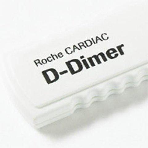 12241528196/04877802190 Набор тест-полосок для определения концентрации Д-Димера (Roche CARDIAC D-Dimer) Roche Diagnostics GmbH, Германия