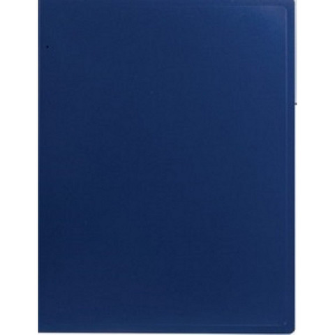 Папка файловая на 10 файлов Attache A4 синяя