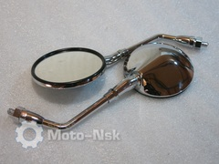 Зеркала хром Honda CB 400SS CB 500 CB 750 CB 1100 CB 1000 CB 1300
