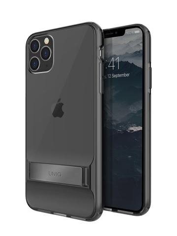 Чехол Uniq Cabrio для iPhone 11 Pro | с раскладной стойкой серый