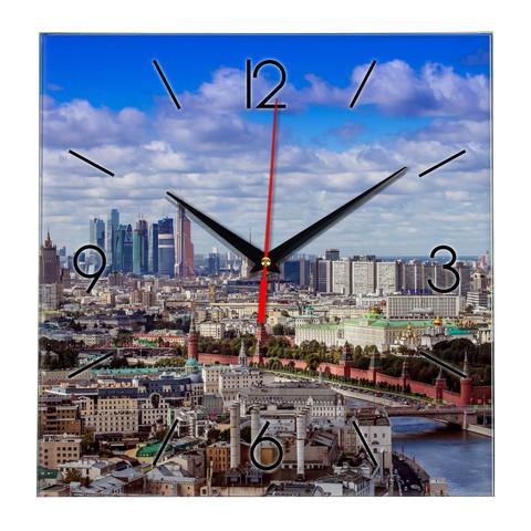 Часы с фото Москва 18 04