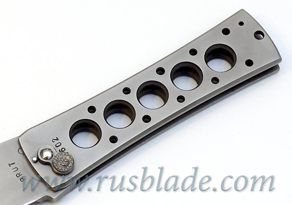 Custom Urakov Brut Folding knife 440C Tanto - фотография