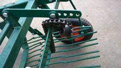 Картофелекопалка вибрационная ККМ-1100 Дизель под Вал Отбора Мощности - шлицы и шпонка