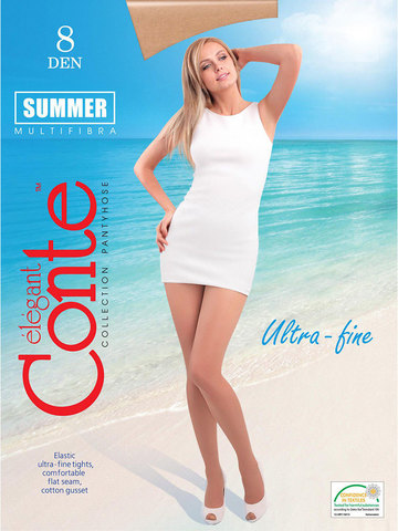 Женские колготки Summer 8 XL Conte