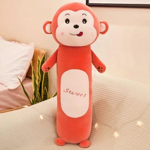 Подушка обезьянка с лапками 70 см
