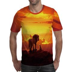 Футболка 3D принт, Король Лев (3Д The Lion King) 01