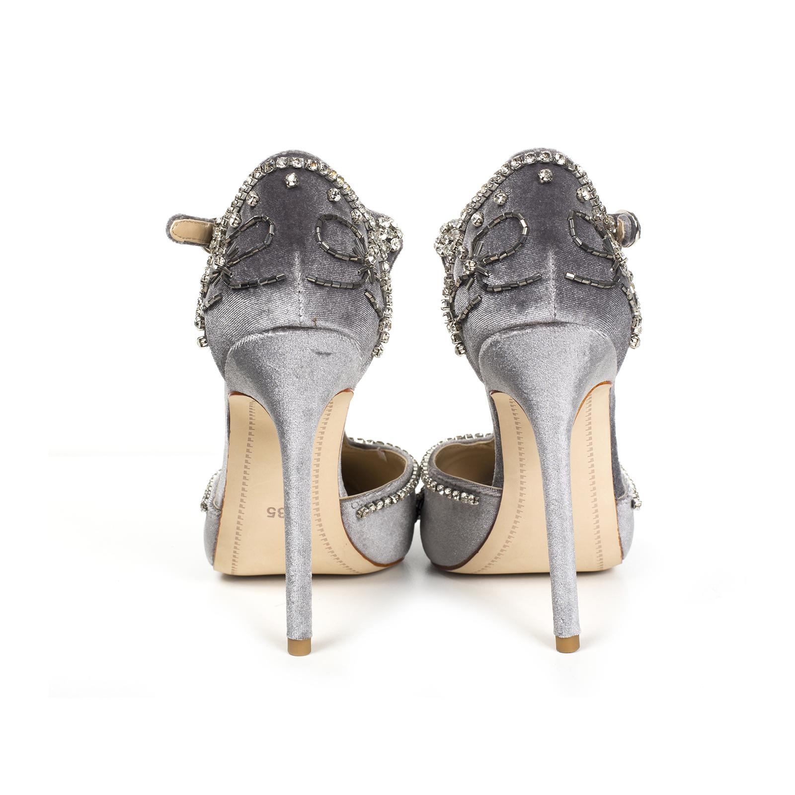 Туфли, Ballerina, Amanda (серый)