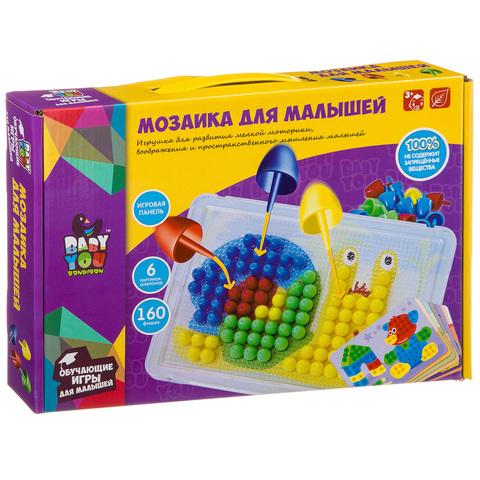 BONDIBON Baby You Мозаика для малышей 160 фишек ВВ3747