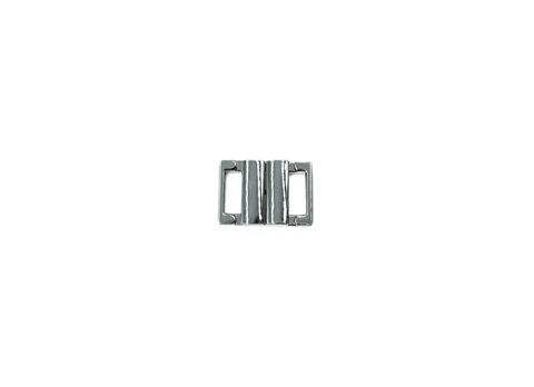 Застежка металл 10 мм серебро