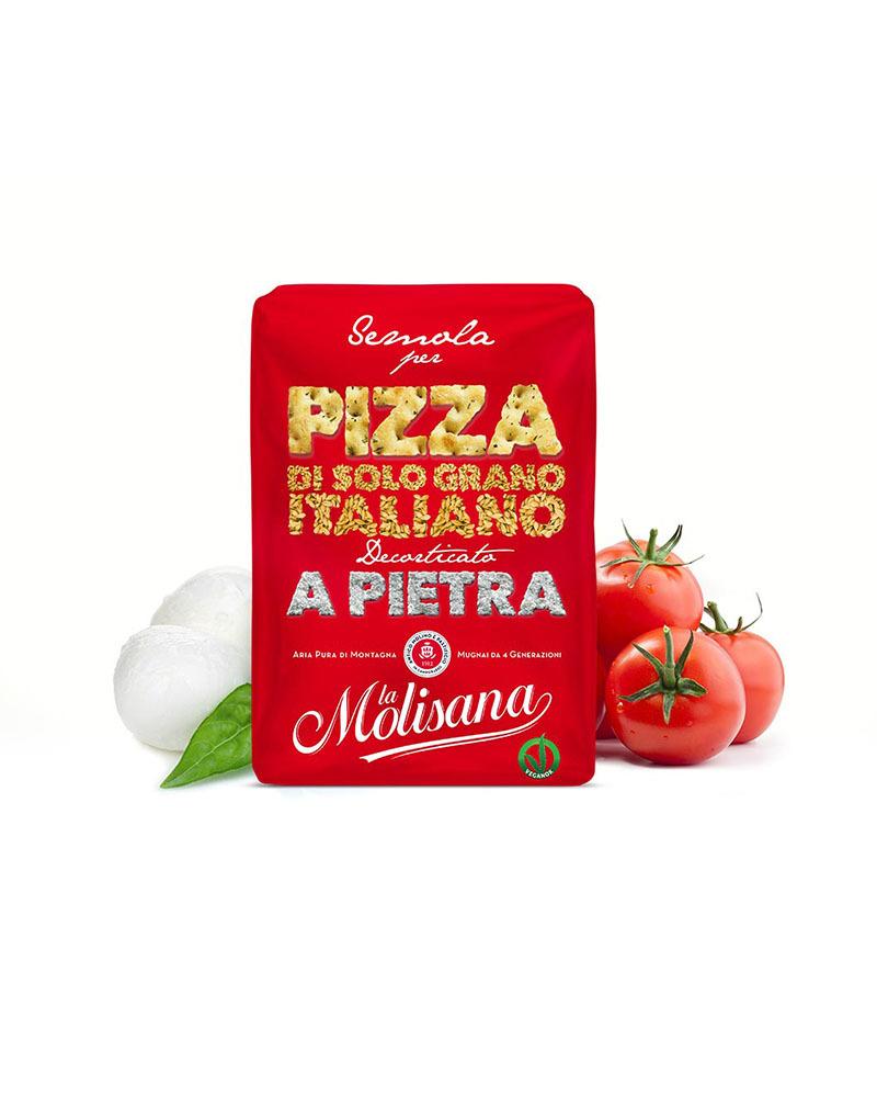 Мука La Molisana из Твердых Сортов Пшеницы для Пиццы 1 кг.