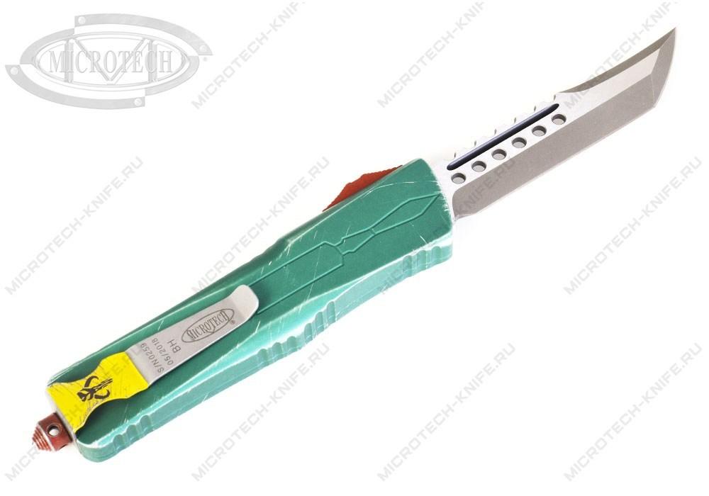 Нож Microtech Combat Troodon Bounty Hunter 219-10BH Hellhound - фотография