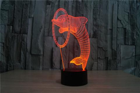 Светильник Дельфин и кольцо