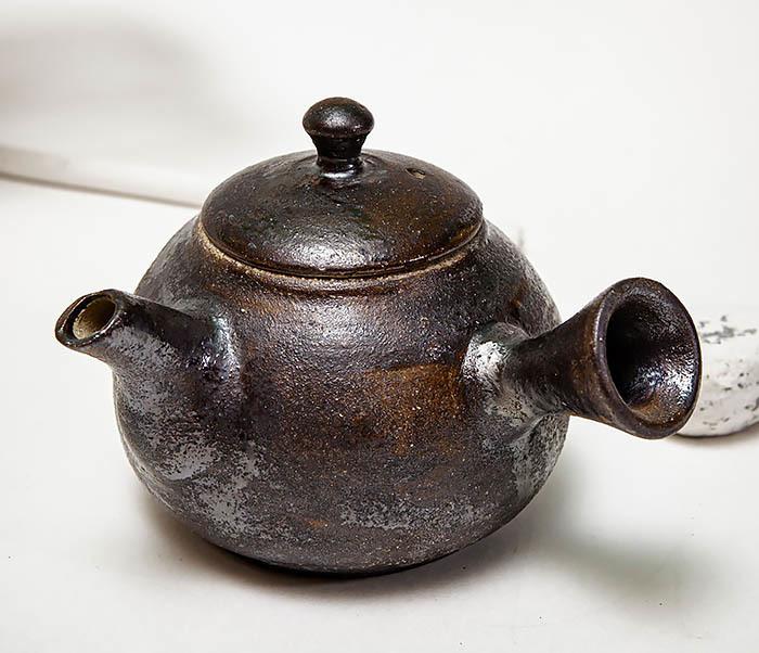POT102 Чайник ручной работы в японском стиле («Kюсу») фото 05