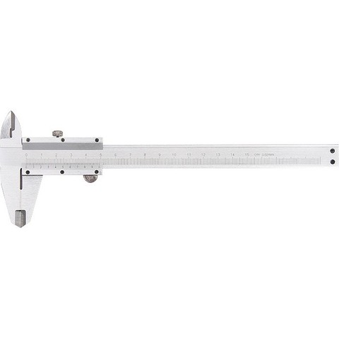 Штангенциркуль, 200 мм, металлический, с глубиномером MTX