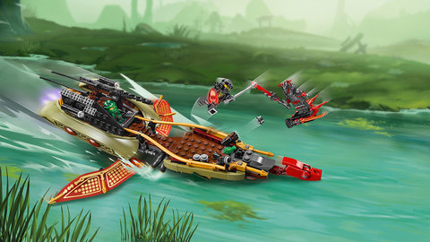 LEGO Ninjago: Тень судьбы 70623 — Лего Ниндзяго — Destiny's Shadow