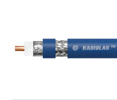 Коаксиальный кабель Radiolab 10D-FB PVC (blue)
