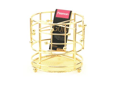 8933 FISSMAN Gold Подставка для кухонных инструментов,  купить