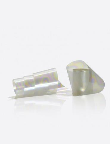 Фольга жемчужная с разводами 2,5см х 1м 192