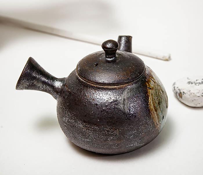 POT102 Чайник ручной работы в японском стиле («Kюсу») фото 06